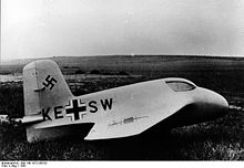 Airplane Picture - The Me 163 A V4 prototype, in 1941.