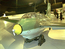 Airplane Picture - Me 163 B Komet, Werknummer 191914 at the Canada Aviation Museum