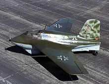 Airplane Picture - An Me 163B on display at the National Museum of the USAF