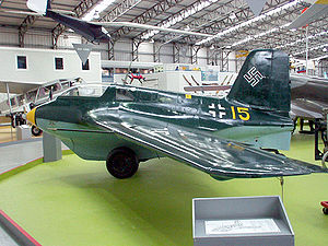 Airplane Picture - Me 163B-1a at the National Museum of Flight in Scotland