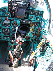Airplane Picture - MiG-21 cockpit
