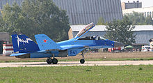 Airplane Picture - The MiG-29K at MAKS-2007