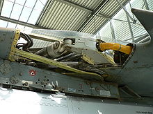Airplane Picture - MiG-23 sweep wing mechanism.