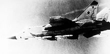Airplane Picture - MiG-31 armed with R-33 missiles