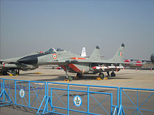 Airplane Picture - MiG-29 of the Indian Air Force