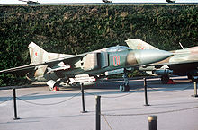Airplane Picture - MiG-23M Flogger-B on display at the Museum of the Great Patriotic war in Kiev.