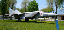 Airplane Picture - MiG-25 at the Ukrainian Air Force Museum in Vinnitsa