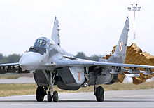 Airplane Picture - Polish MiG-29A