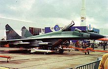 Airplane Picture - A MiG-29M. It was decided to make a naval version of MiG-29M with the new model designated the MiG-29K.