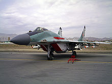 Airplane Picture - Peruvian Air Force MiG-29 on display