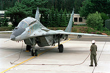 Airplane Picture - German MiG-29GT