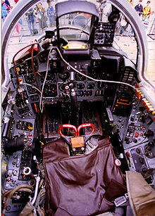Airplane Picture - MiG-29 cockpit, 1995