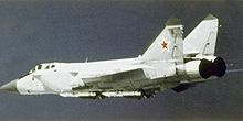 Airplane Picture - MiG-31 in flight