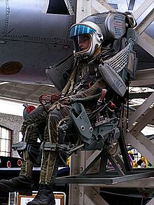 Airplane Picture - Such ejection seats of type KM-1 were used in the MiG-21 and MiG-23.