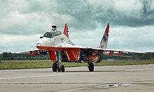 Airplane Picture - MiG-29UB of Swifts aerobatic team
