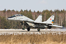 Airplane Picture - MiG-29UB trainer