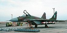 Airplane Picture - A Ukrainian Air Force MiG-29 with armaments laid out