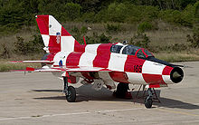 Airplane Picture - Croatian Air Force MiG-21 UMD