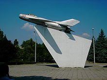 Airplane Picture - MiG-19 in Tiraspol