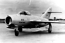Airplane Picture - MiG-15 delivered by a defecting North Korean pilot to the US Air Force