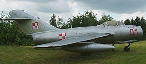 Warbird Picture - Single-seat MiG-15 of the Polish Air Force