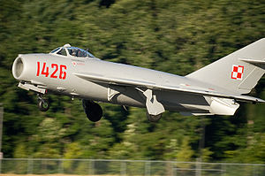 Warbird Picture - Restored MiG-17 in the markings of the Polish Air Force