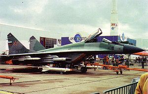 Warbird Picture - MiG-29M at Paris Air Show in 1993