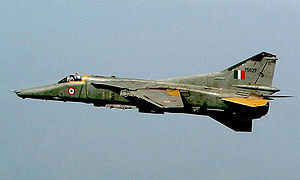 Warbird Picture - A MiG-27 of the Indian Air Force