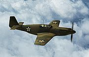 Airplane Pictures - Early Allison-powered P-51, October 1942