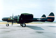 Warbird picture - Airplane picture - P-61C 42-8353 painted in the livery of 550th Squadron's Moonlight Serenade at the National Museum of the United States Air Force
