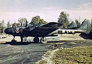 Warbird picture - Airplane picture - A P-61A of the 425th NFS (RAF Scorton, England)