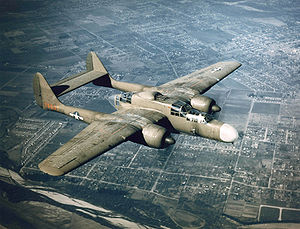 Warbird picture - Airplane picture - A P-61A-1NO of 419th Night Fighter Squadron