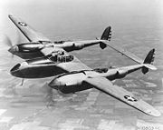 Airplane Pictures - Lockheed YP-38 (1943), one of 13 constructed