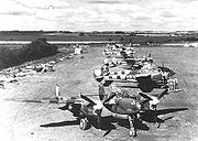 Airplane Pictures - P-38s of the 370th Fighter Group