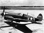 Airplane Pictures - A USAAF Curtiss P-40K-10-CU, serial number 42-9985, c.1943