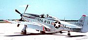 Airplane Pictures - West Virginia Air National Guard F-51D. Note: postwar