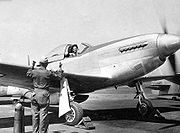 Airplane Pictures - Florene Watson Women Airforce Service Pilots, preparing a P-51D-5-NA for a ferry flight from the factory at Inglewood, CA