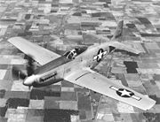 Airplane Pictures - P-51H in flight