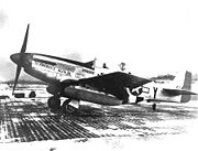 Airplane Pictures - Chuck Yeager's P-51D-15-NA Glamorous Glennis III, is the aircraft in which the future test pilot achieved most of his 12.5 kills
