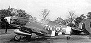 Airplane Pictures - An Polish Air Force personal Mustang III (not commisioned to any Squadron) flown by Wing Commander Tadeusz Nowierski, C/O of 133(Polish) Fighter Wing, RAF Coolham, July 1944