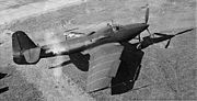 Airplane Pictures - L-39 with swept wings, extended rear fuselage, ventral tail fin and P-39 prop