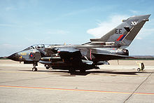 Airplane Picture - A Tornado GR1 of XV Sqn RAF.