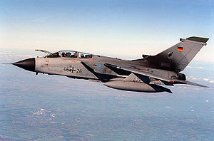 Airplane Picture - German Luftwaffe Tornado ECR