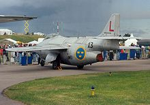 Airplane picture - Saab Tunnan at Linköping, on the occasion of SAAB's Diamond Jubilee, in 1997