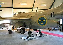 Warbird picture - Saab S 29C preserved in an aviation museum