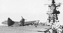 Warbird Picture - VB-17 SB2C-1 which lost its tail while landing on USS Bunker Hill in 1943.