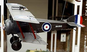 Airplane Pictures - A Sopwith Camel at the Imperial War Museum, London