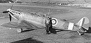 Airplane Pictures - Spitfire Mk IIA P7666 of 41 Squadron,