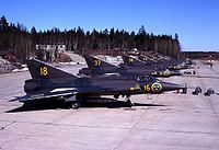 Airplane Picture - Saab 35 Draken (1960-1999)