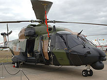 Airplane Picture - Hkp 14 mockup (NH90)